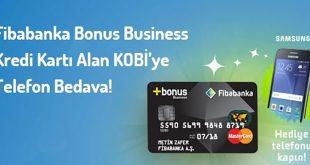 Fibabanka'dan Bonus Business Kredi Kartı alın