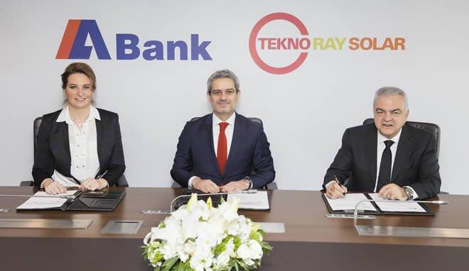 ABank'tan, 96 ay vadeli, 6 milyon dolarlık finansman desteği.